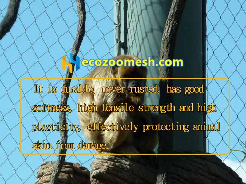 Production Of Long Tailed Monkey Net Mesh Monkey Exhibit